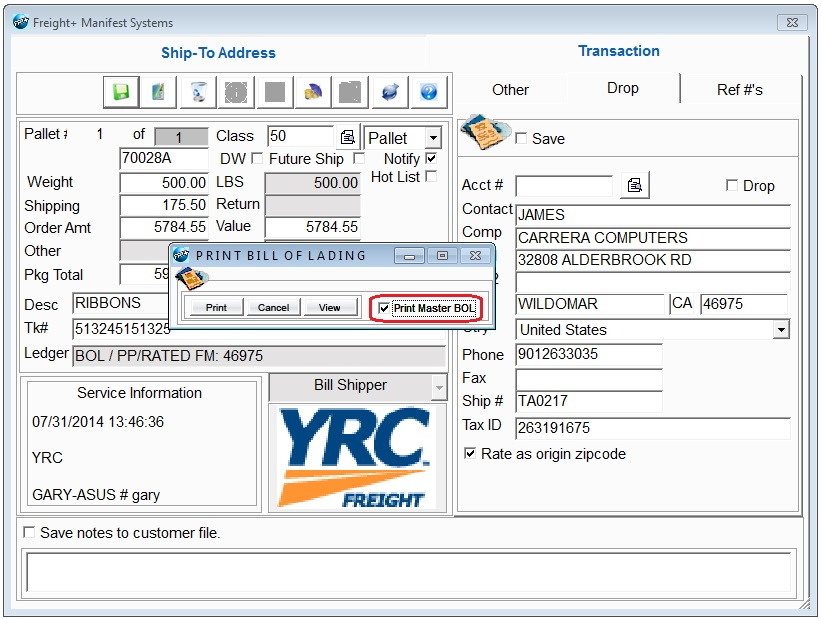 Freight + Multi-carrier Shipping Software - Online Support Forum