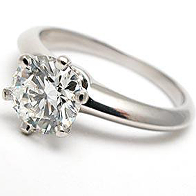 Tiffany Engagement Ring From Weston