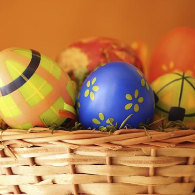 Plastic Easter Eggs - iStock