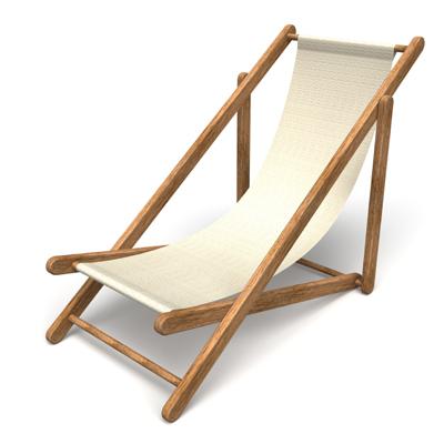 Plain Canvas Chair - iStock