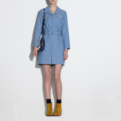 A.P.C. Chambray Sahara Dress - Oliver &amp; Lilly's