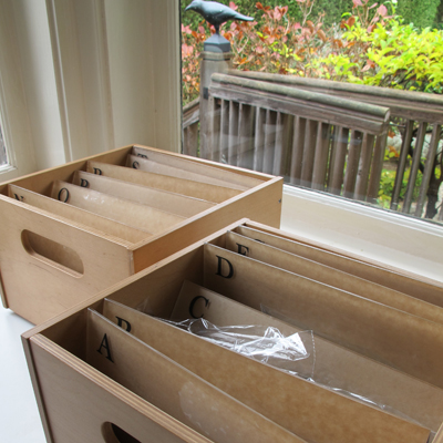 My Spice File Boxes - C. Rule