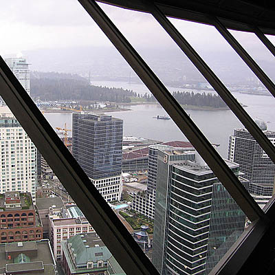 View from the Top of Vancouver