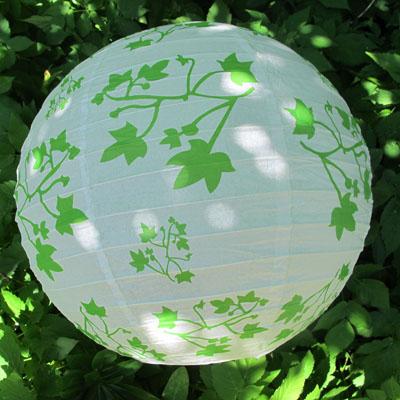 Ivy Paper Lantern- Diaso-C. Rule