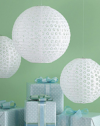Martha Stewart White Paper Lanterns