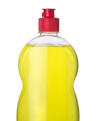 dishwashing liquid -shutterstock