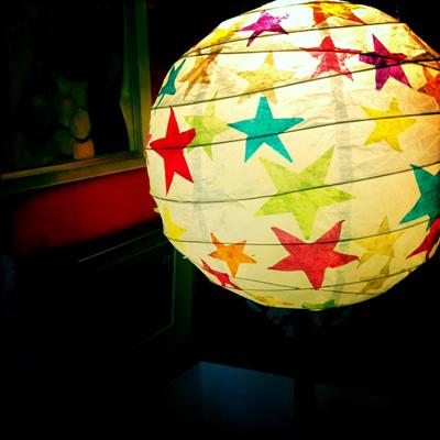 Tissue Paper Stars