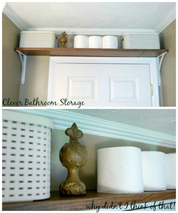 Bathroom Storage Solutions - Small Space Hacks \ Tricks