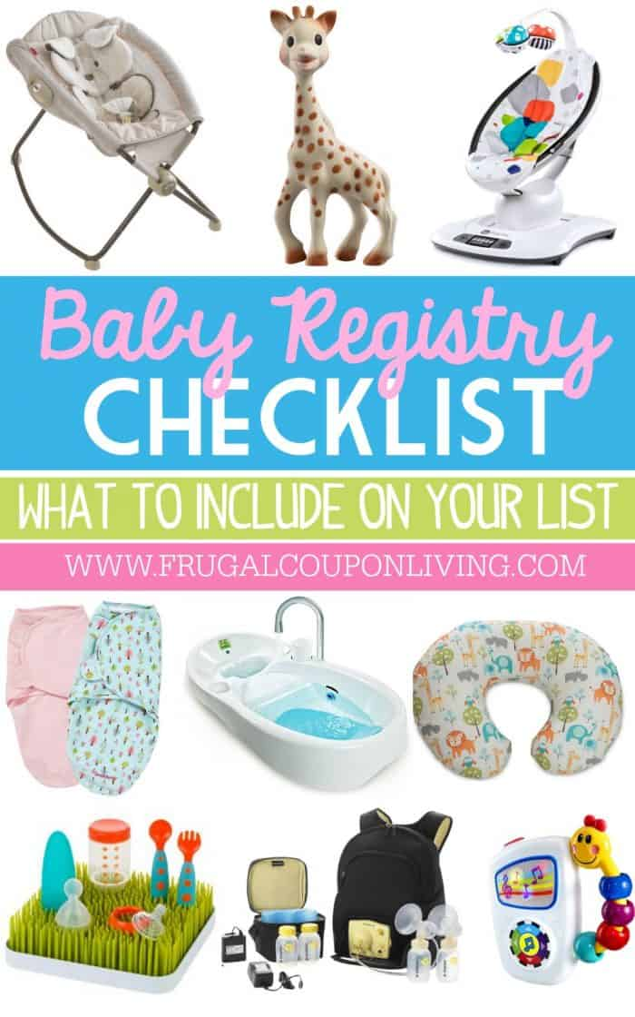 Baby Registry Checklist What to Put on a Baby Registry