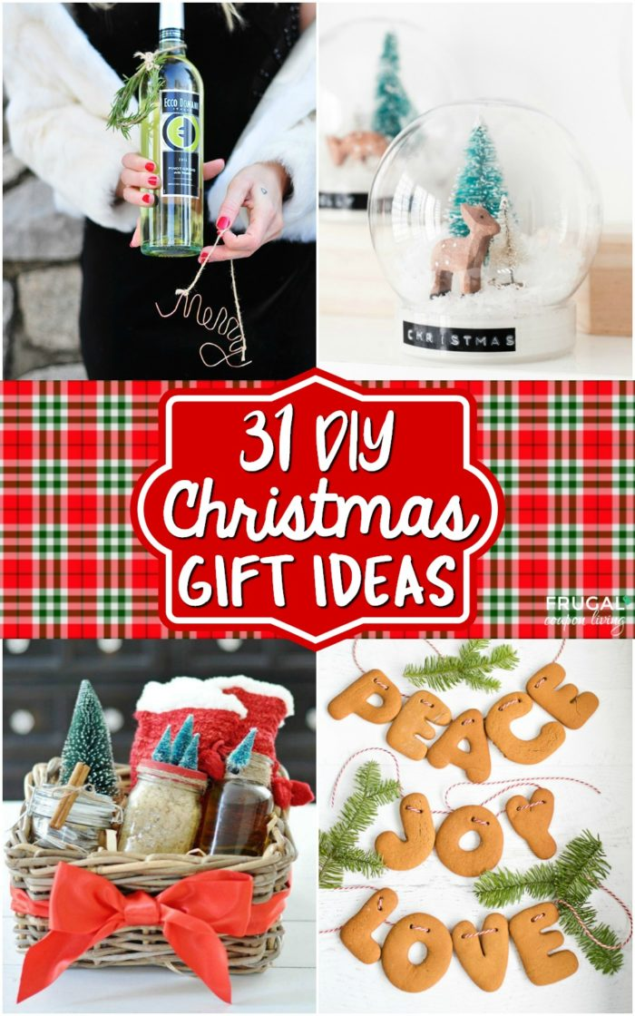 31 DIY Christmas Gift Ideas   Printable Christmas Gift Certificate