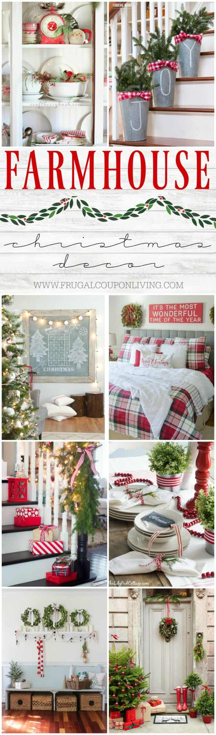 Large Of Farmhouse Christmas Decor