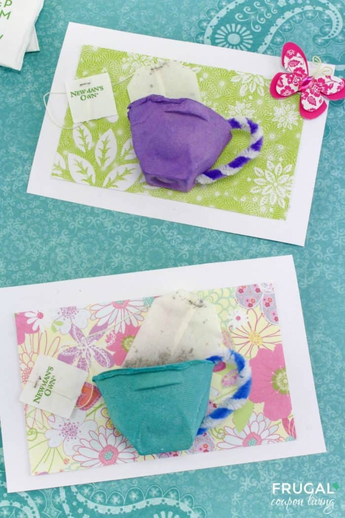 Tea Cup Mother\u0027s Day Card Craft for a Tea-rrific Mom