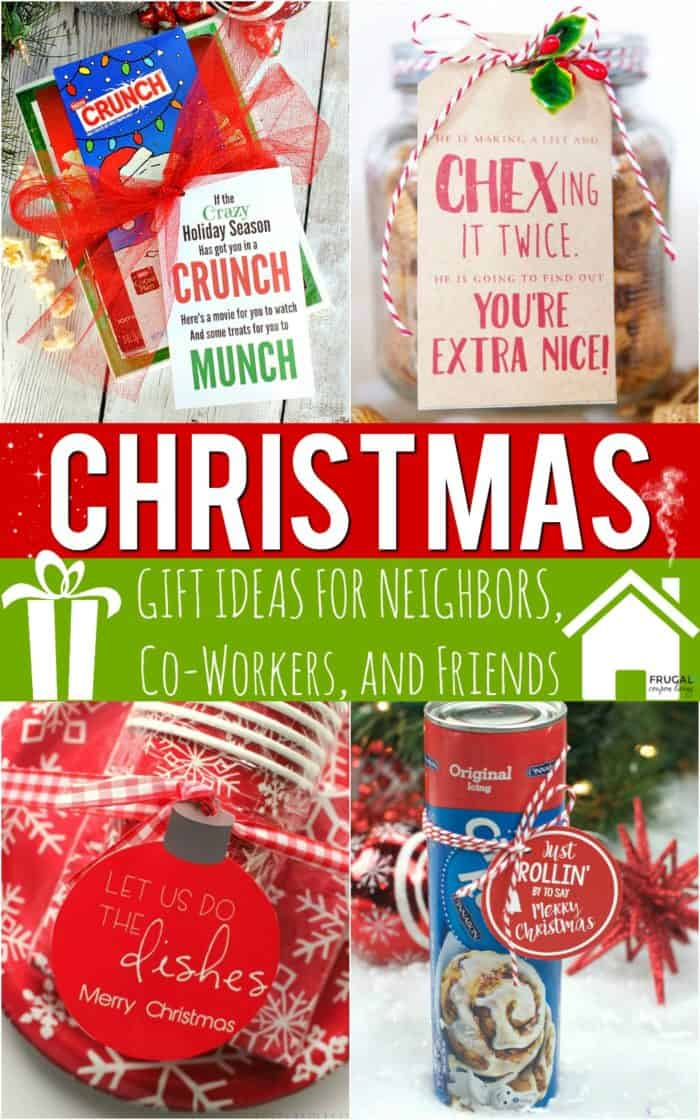 Christmas Gift Ideas for Your Neighbor Teachers, Co-Workers  Friends