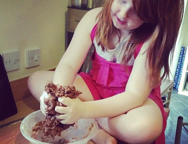 Chocolate Gingerbread Christmas trees….