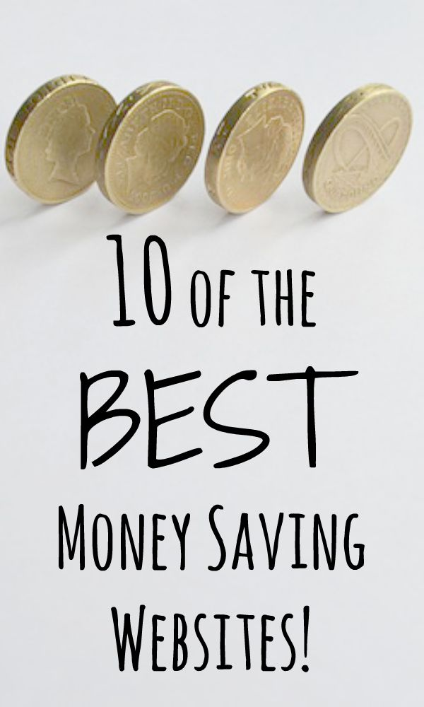 10 of the BEST Money Saving Websites!