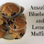 Delicious Lemon and Blueberry Muffins….