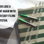 Never lose a document again with my super easy filing system….