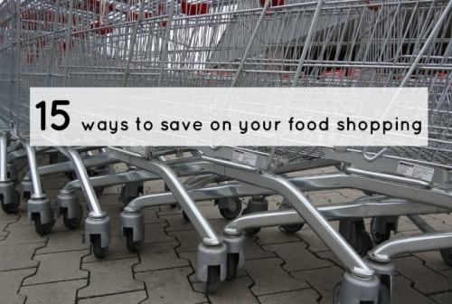 15 ways to save on your food shopping