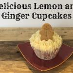 Christmas Lemon and Ginger Cupcakes….