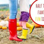 Have fun next week with these half term family fun ideas….