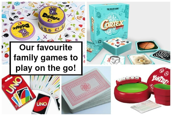 Our favourite family games to play on the go….