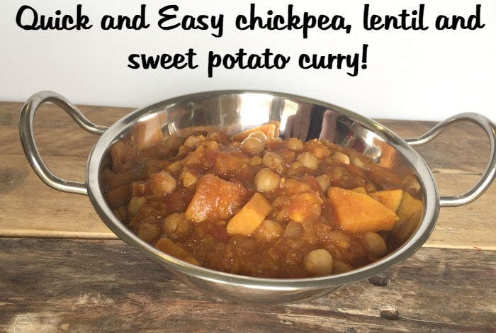 ... , Lentil and Sweet Potato Curry.... - The Diary of a Frugal Family