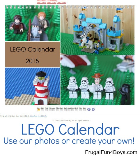 Online School Yearbooks Create A Custom Yearbook Create Your Own Lego Wall Calendar Frugal Fun For Boys