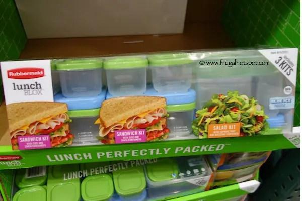 Rubbermaid Lunch Blox Set 3 Kits Costco Frugal Hotspot