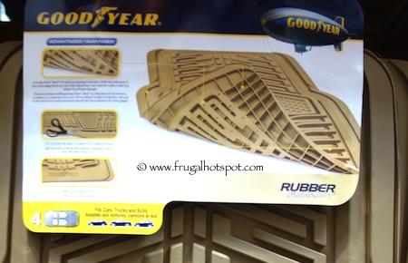 Goodyear Heavy Duty Car Mats 4 Piece Set Costco Frugal