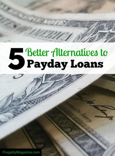 Need Emergency Cash? 5 Better Alternatives To Payday Loans