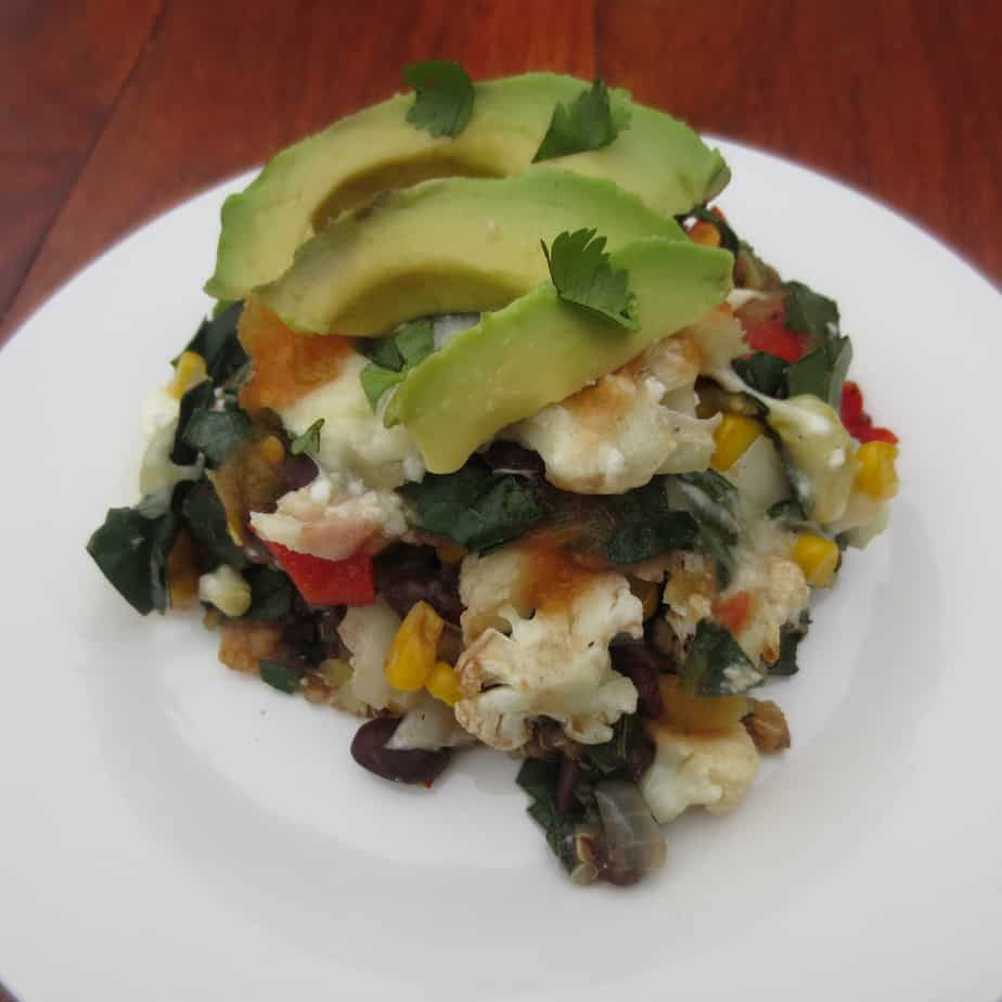 Veggie-Packed Mexican Casserole