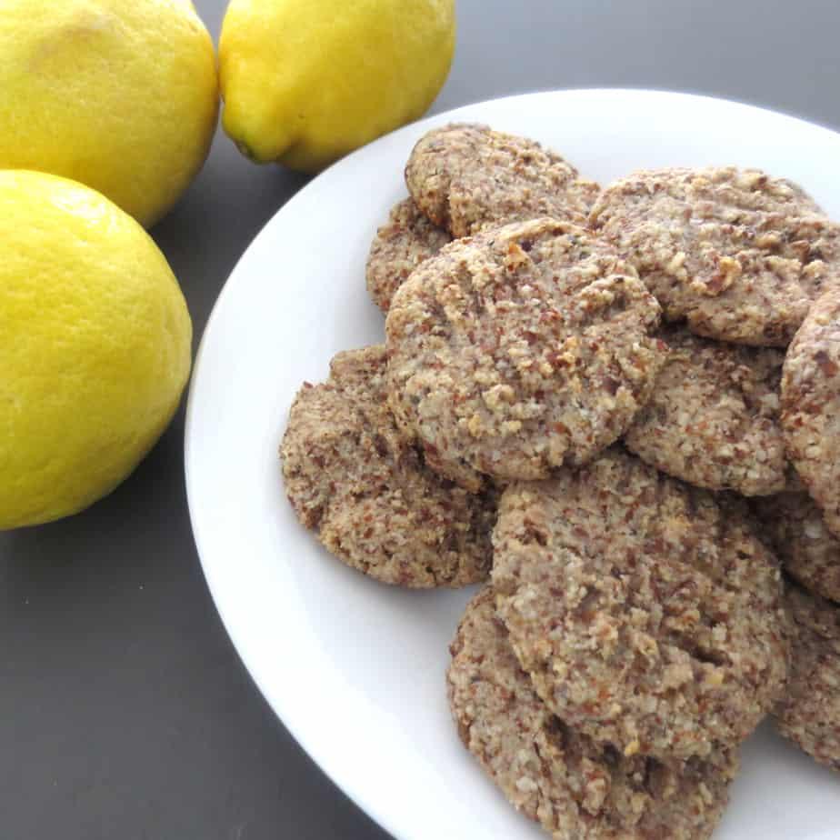 Lemon Almond Cookies