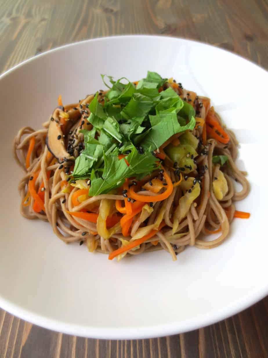 Japanese Yakisoba (Stir-Fried Noodles) | Frugal Nutrition