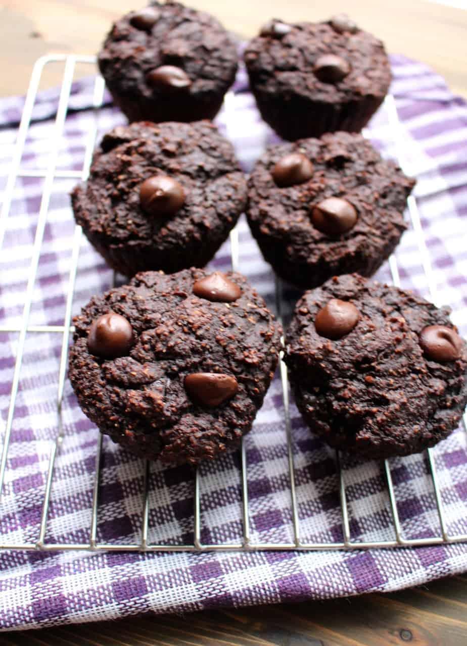 Dark Chocolate Banana Muffins   Frugal Nutrition