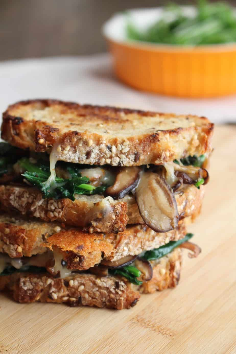 Mushroom Melt | Frugal Nutrition