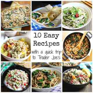 Trader Joe's Recipes, Trader Joe's Easy Recipes #traderjoes #easy #weeknight #meals
