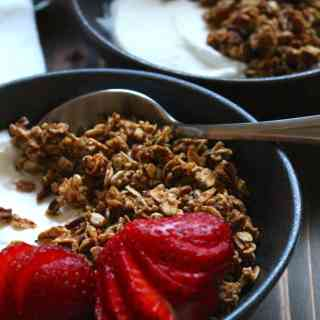 The Best Granola | frugalnutrition.com