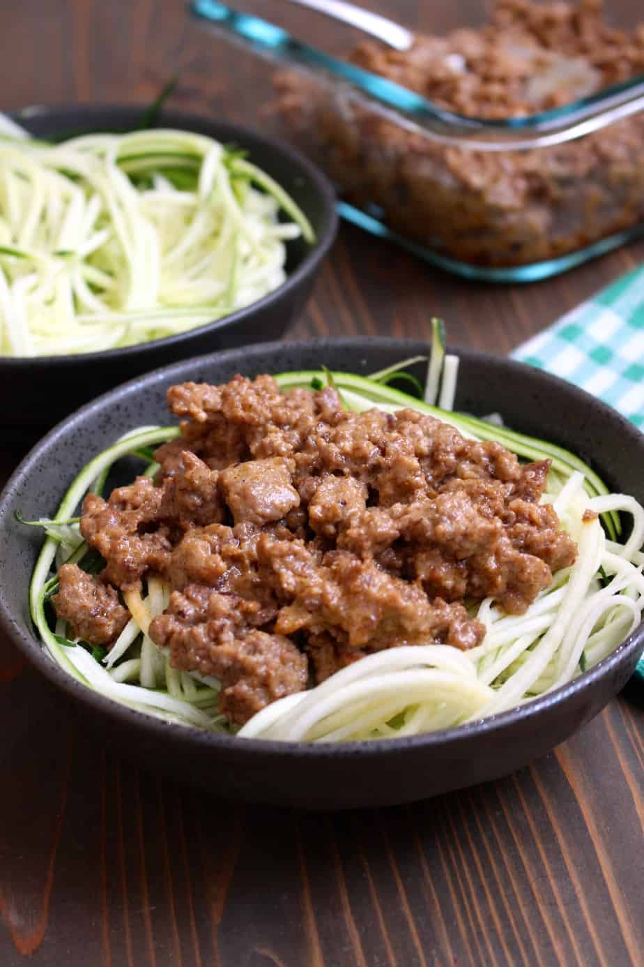 20 MInute Thai Coconut Beef and Zucchini Noodles | Frugal Nutrition