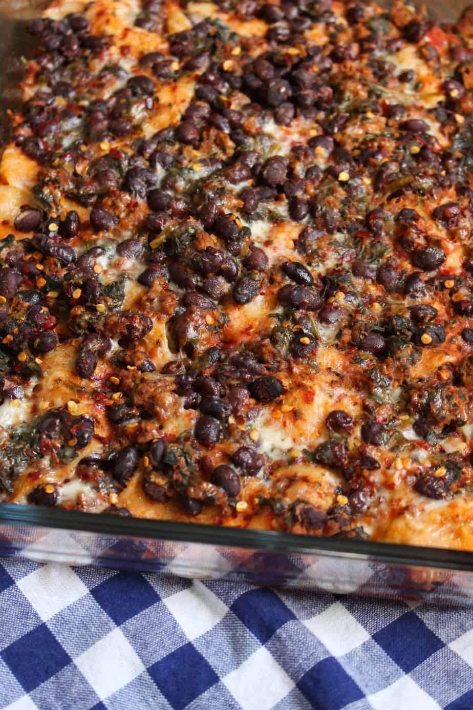 6-Ingredient Taco Lasagna Casserole | Frugal Nutrition