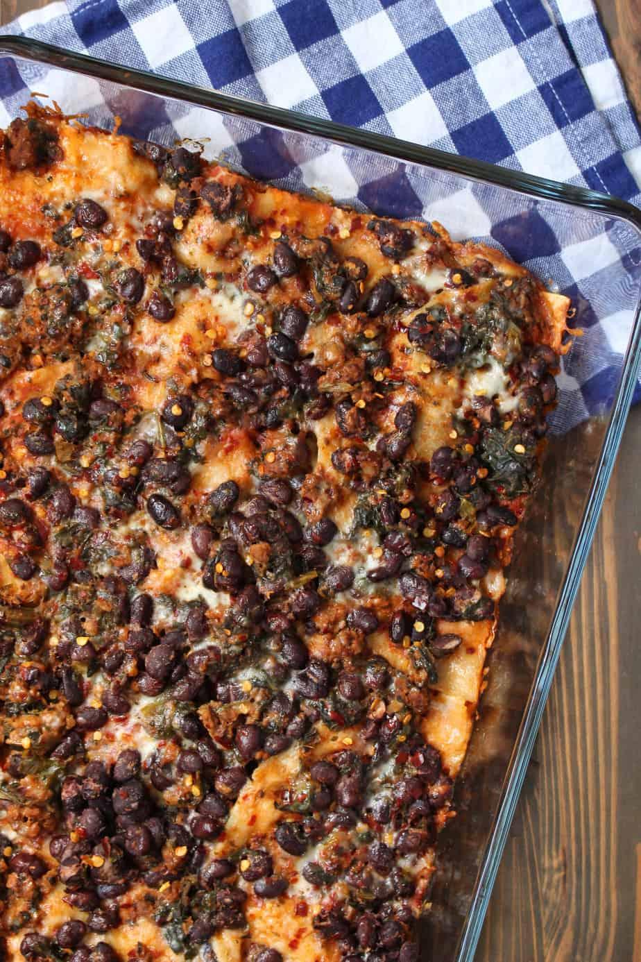 Taco Lasagna Casserole | Frugal Nutrition