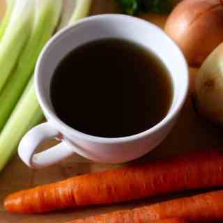 Homemade Nourishing Vegetable Broth | Frugal Nutrition