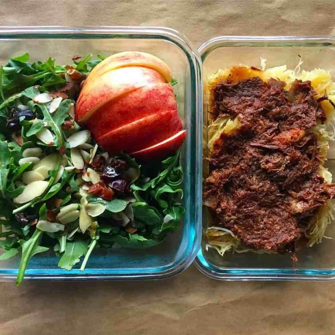 Beef Ragu and Arugula Salad | Frugal Nutrition