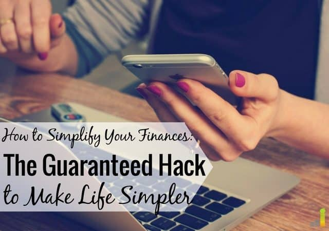 How I Simplified My Finances - Frugal Rules
