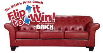 Contest ~ Enter to Win 1 of 125 Daily, Instant and Grand Prizes, including three $5,000 Brick Shopping Sprees!