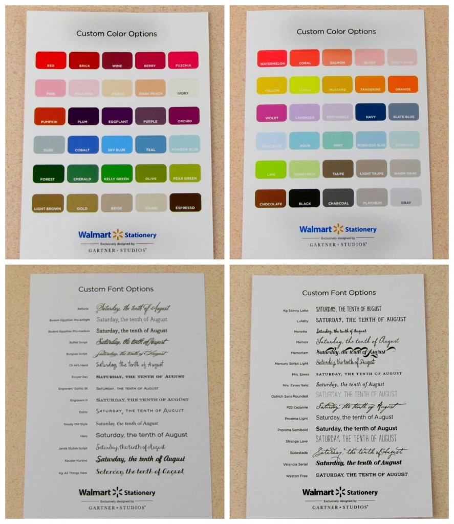save on wedding invitations with the walmart stationary store wedding invitations walmart Custom Options for Walmart Wedding Stationary