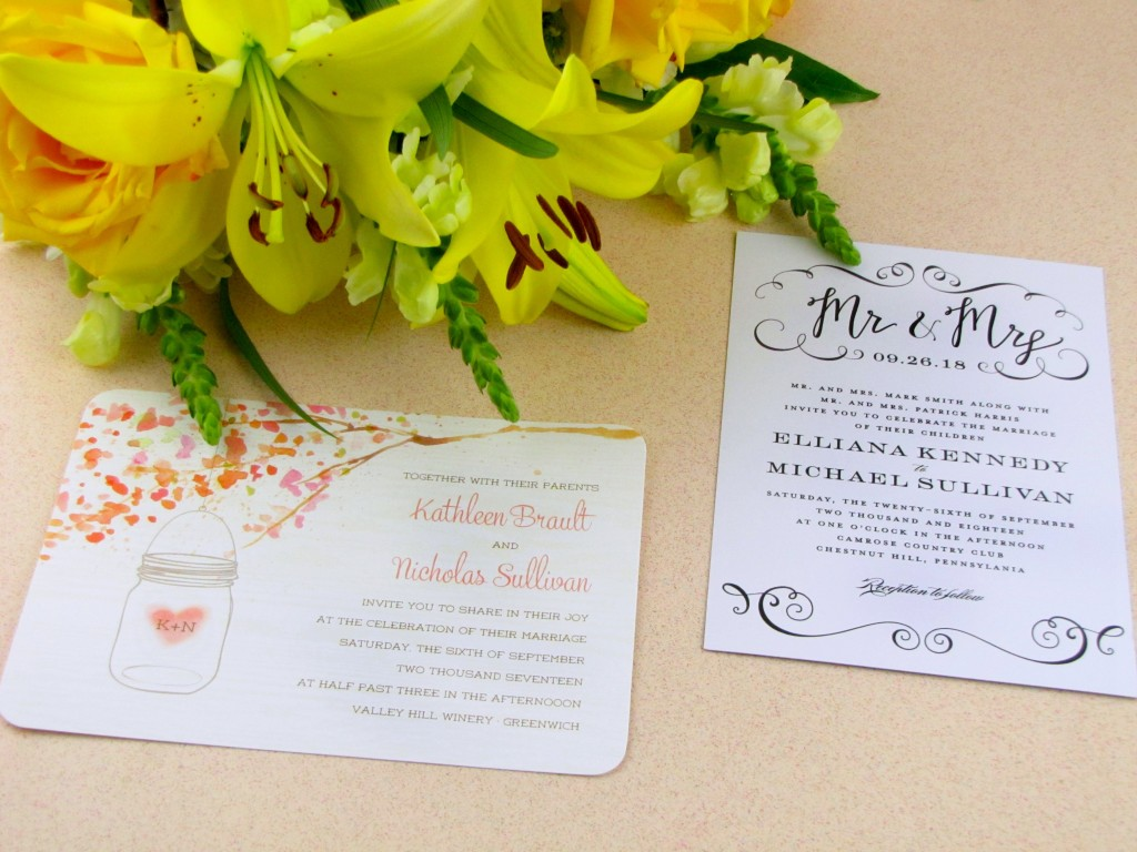 save on wedding invitations with the walmart stationary store wedding invitations walmart Pretty Sample Wedding Stationary from Walmart