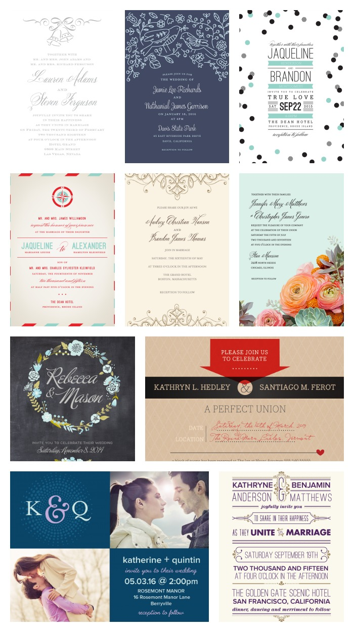 save on wedding invitations with the walmart stationary store wedding invitations walmart Variety of wedding invitations available at Walmart