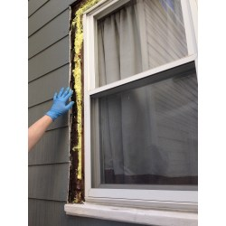 Small Crop Of Window Trim Exterior