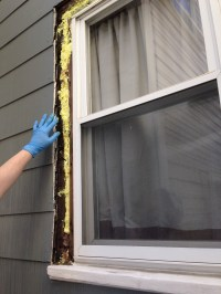 How to Replace Exterior Window Trim - Frugalwoods