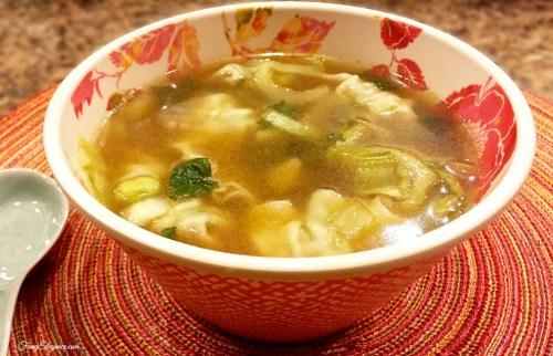 how to make wonton soup video